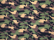ITY Knit Army Prints Fabric