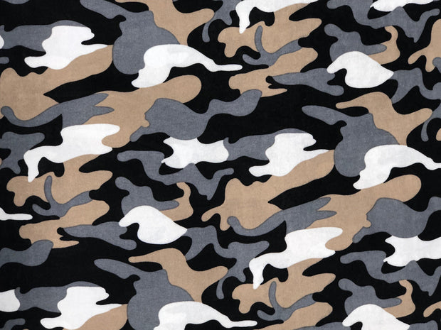 ITY Knit Army Prints Fabric - Express Knit Inc.