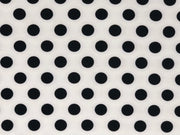 ITY Knit Polka Dot Print Fabric - wholesale fabric