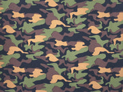 Liverpool Knit Army Print Fabric - Express Knit Inc.