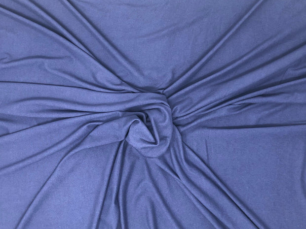DTY Brushed Knit Solid Fabric