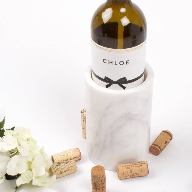 marble vase - marble bottle holder