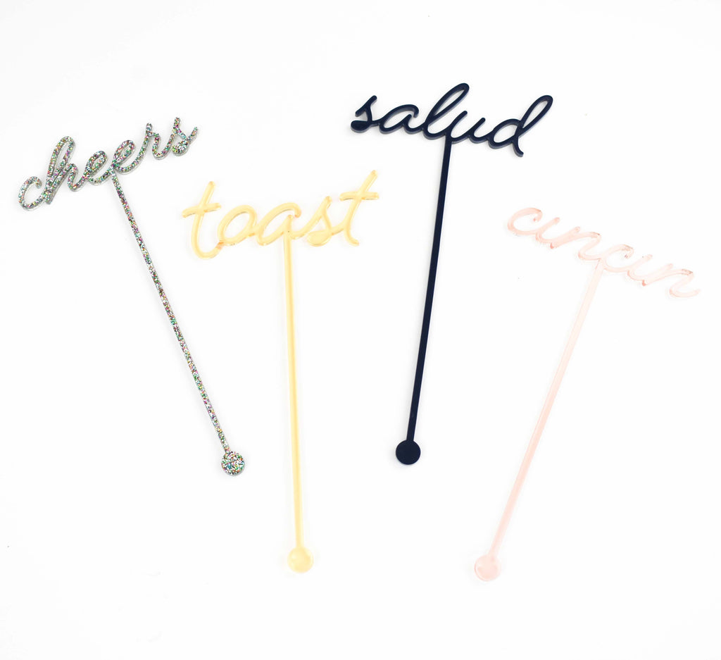 swizzle sticks - custom drink stirrers