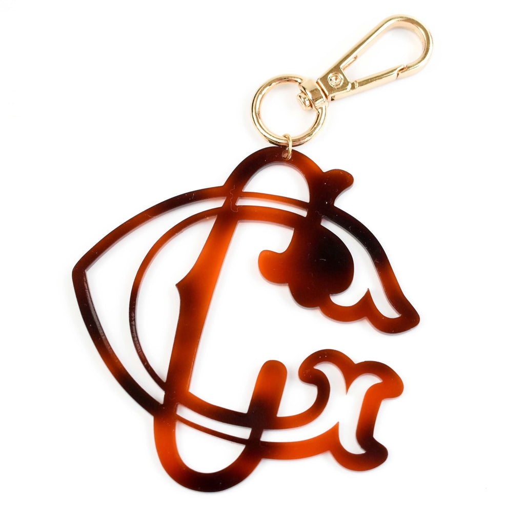 couture monogramming - monogram keychain