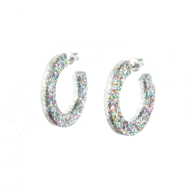 mini hoop earrings - statement hoops