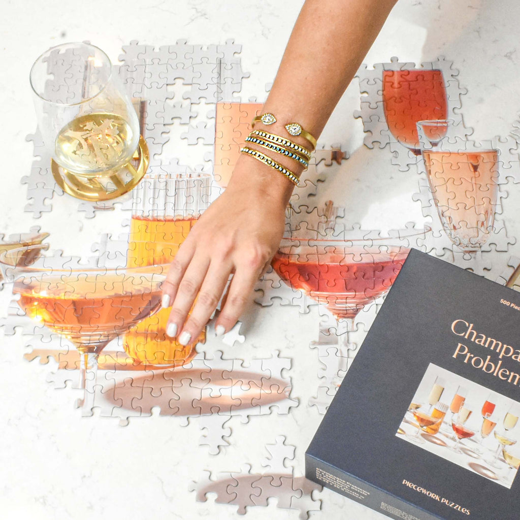 champagne problems - piecework puzzles