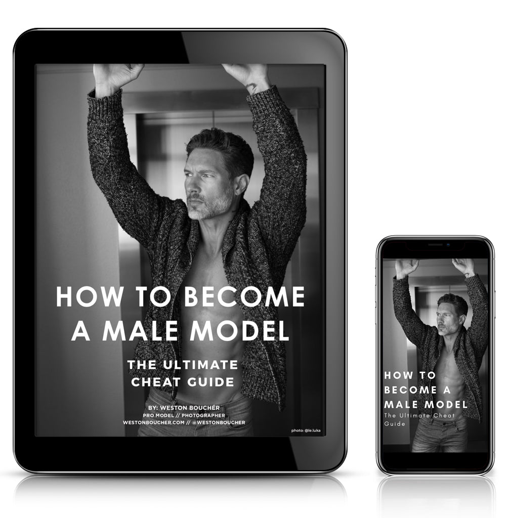 HOW TO BECOME A MALE MODEL // The Ultimate Cheat Guide