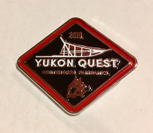 2019 Yukon Quest Pin