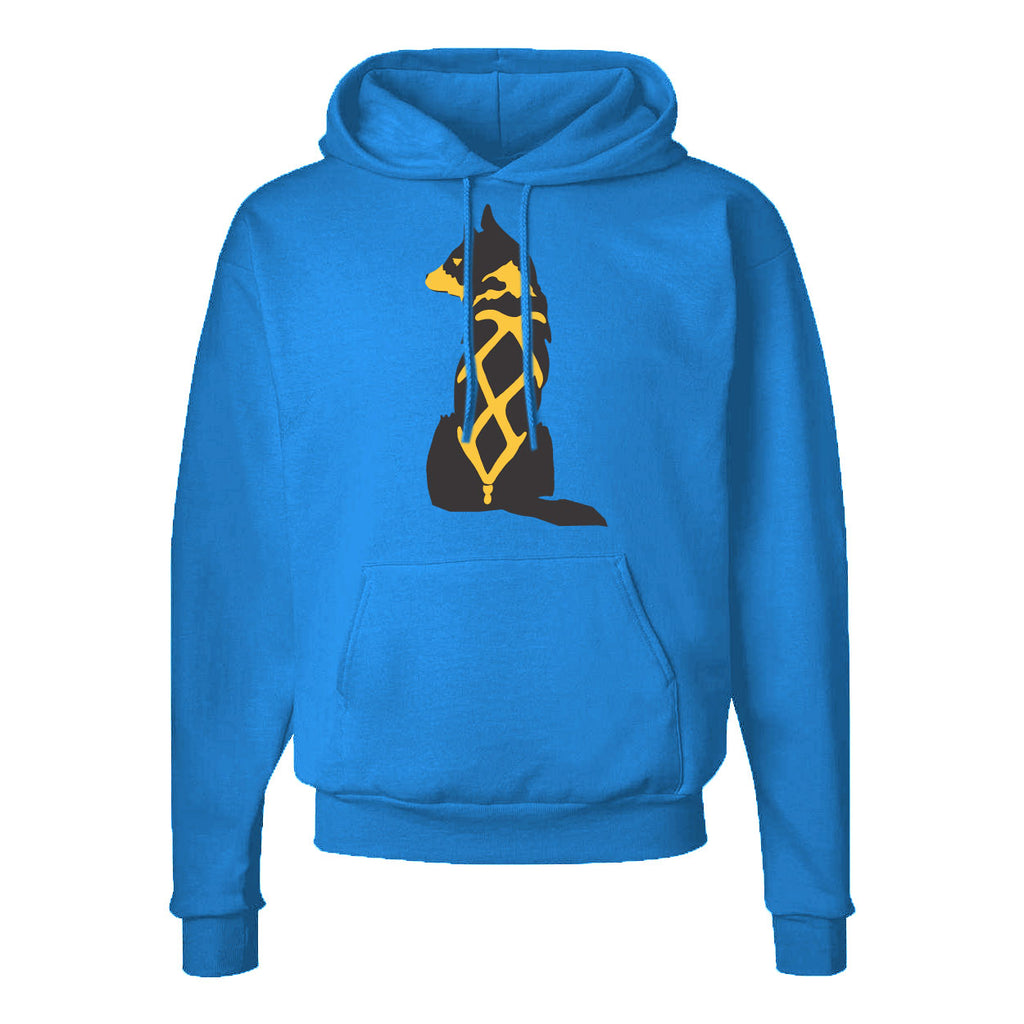 Sitting Dog Pullover Hoodie