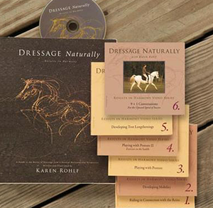 Dressage Naturally Total Package: Book + DVD Series