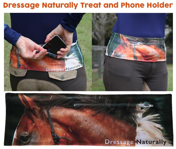 Rider's Treat Pouch and Phone Holder