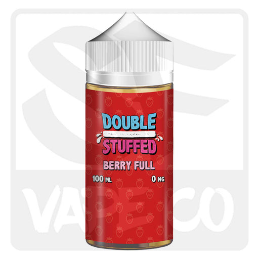 Double Stuffed Salt E-Juice - Berry Full