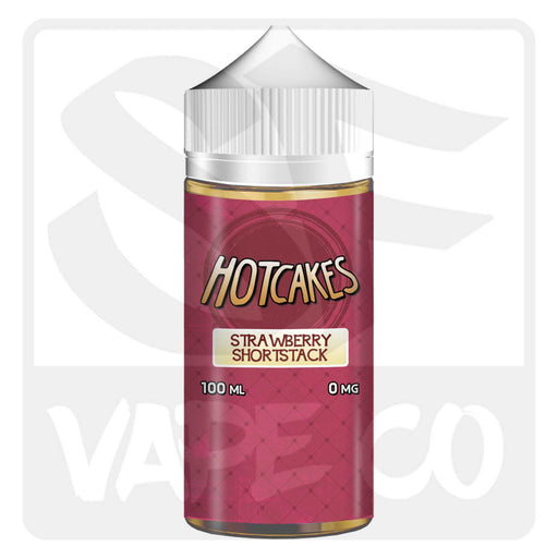 Hotcakes E-Juice - Strawberry Shortstack