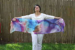 Art scarf: Breath