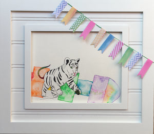 Nursery Art: Pounce Scotch