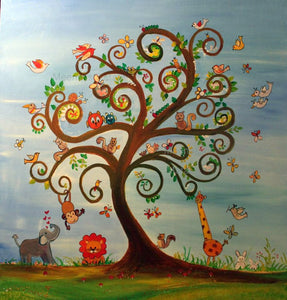 Nursery Art: Tree of Life