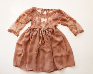 Dawson Long Sleeved Gown- 18 month/2t