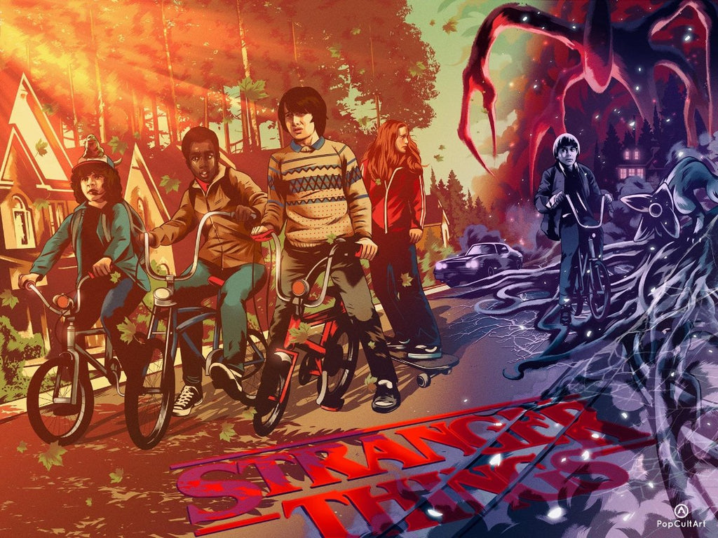 Stranger Things by Alexander Wells (Original) | PopCultArt