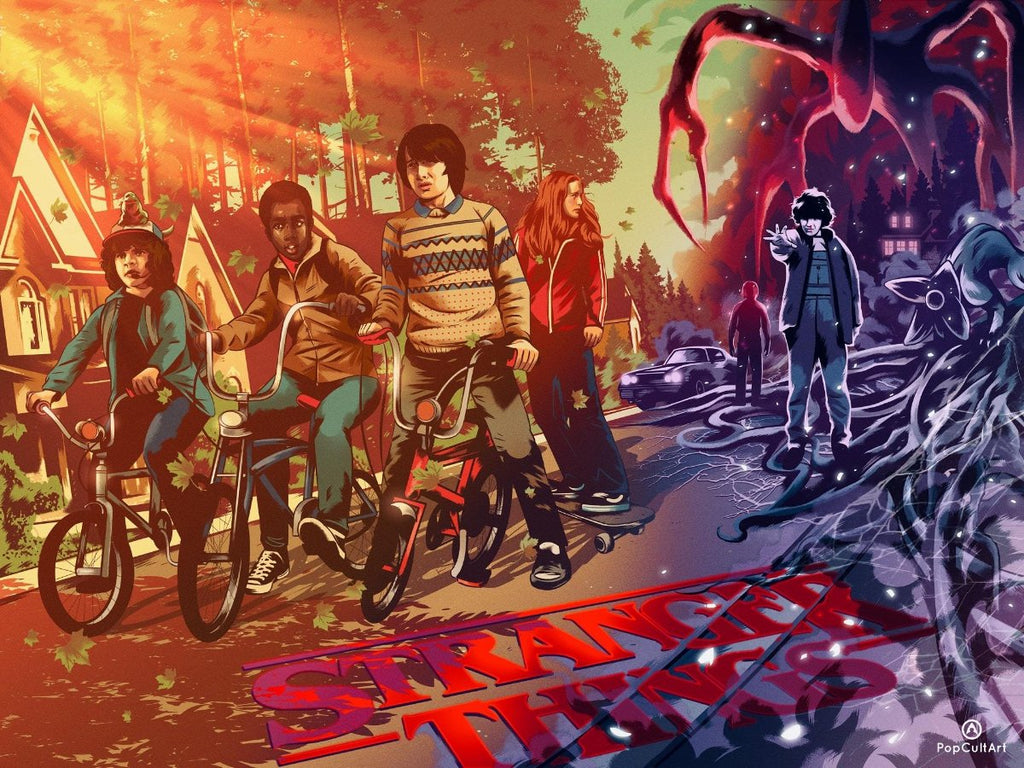 Stranger Things by Alexander Wells (Variant) | PopCultArt
