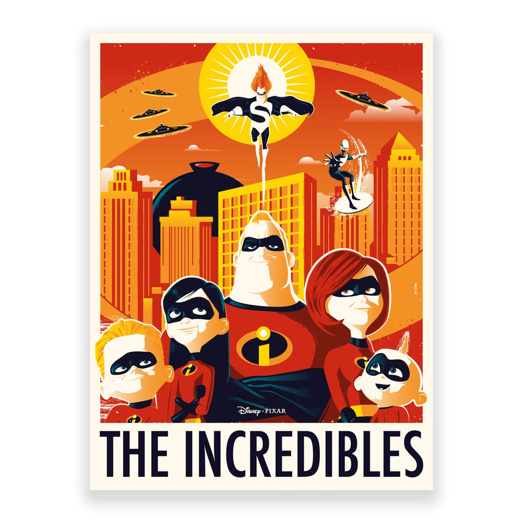 The Incredibles by Rico Jr | PopCultArt