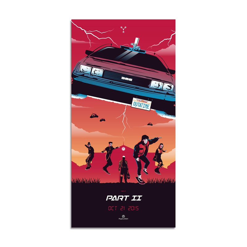 Back to the Future Part II by Rico Jr. | Giclee |  PopCultArt
