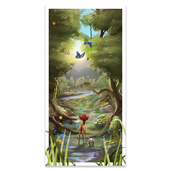 Bambi | Disney Movie Poster | Andy Fairhurst | Giclee | PopCultArt