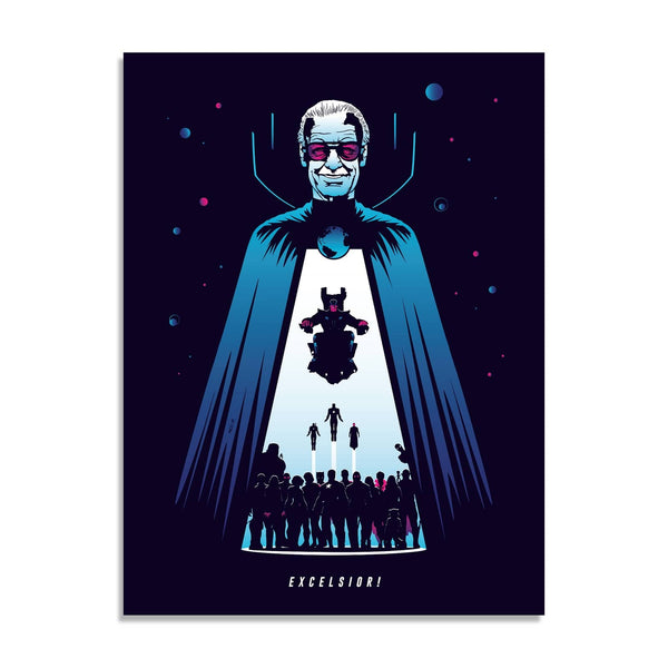 Excelsior! (Timed Edition) by Rico Jr. | Giclee |  PopCultArt