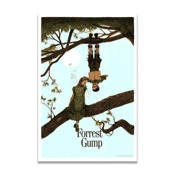 Forrest Gump (Original) Marc Aspinall - Screenprint - PopCultArt