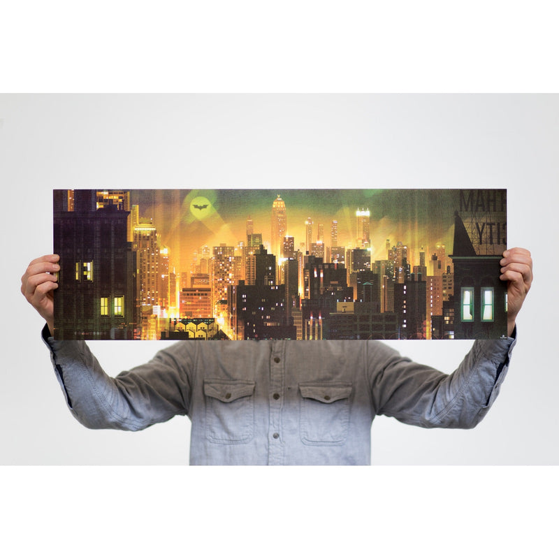 Gotham (Variant) by James Gilleard | Screenprint shot | PopCultArt