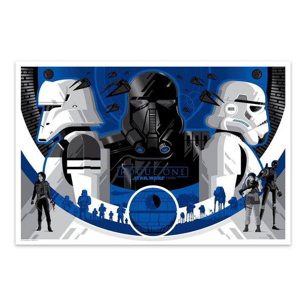 Imperial Forces (Variant) | Tom Whalen | Lithograph