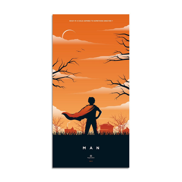 Superman Triptych (Original) | Man by Rico Jr. | Giclee |  PopCultArt