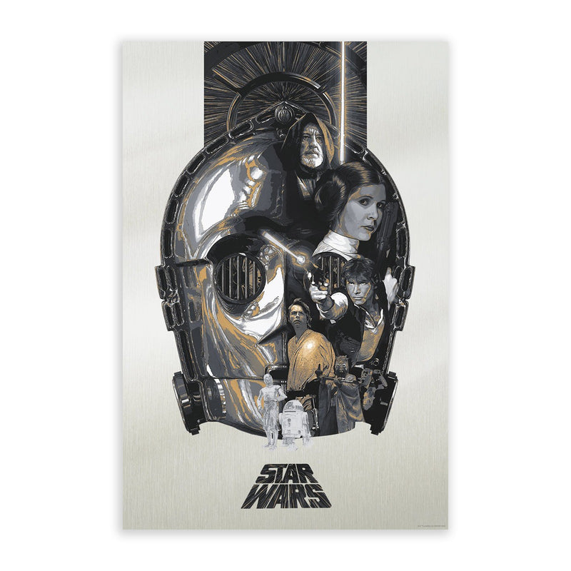 The Fourth | Devin Schoeffler | Star Wars Poster Art | PopCultArt