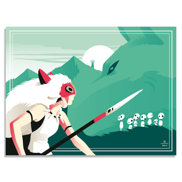 Princess Mononoke by Rico Jr. | PopCultArt