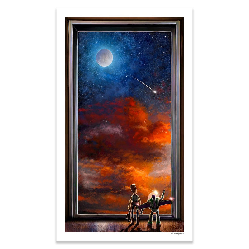 Reach for the Sky | Disney Pixar's Toy Story | Mark Chilcott | Giclee | PopCultArt