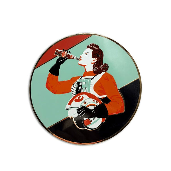 Rebel Cola #3 Collectible Pin by Steve Thomas | Star Wars | PopCultArt