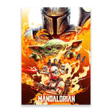 Redemption by Chris Christodoulou - The Mandalorian Poster PopCultArt