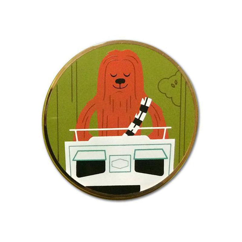 Chewbacca - ROTJ Pin #2 | Star Wars Pin | Dave Perillo | PopCultArt