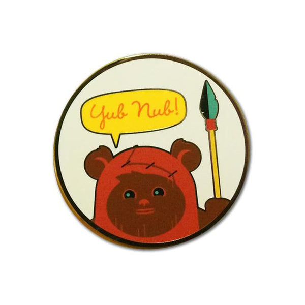 Wicket - ROTJ Pin #4 | Star Wars Pin | Dave Perillo | PopCultArt