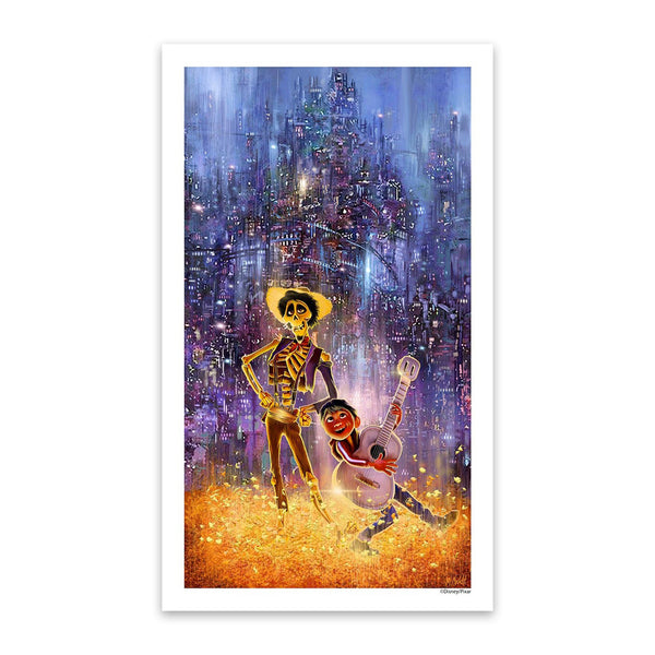 Seize Your Moment | Disney Pixar's Coco | Mark Chilcott | Giclee | PopCultArt