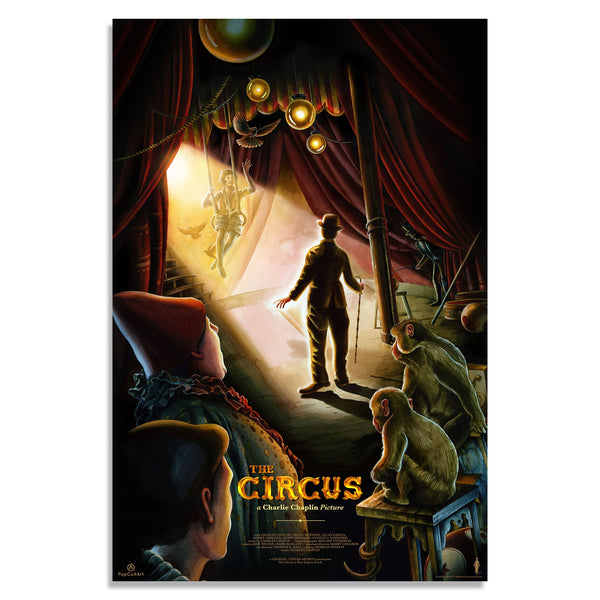 "Charlie Chaplin's ""The Circus"" (1928) by Jérémy Pailler 