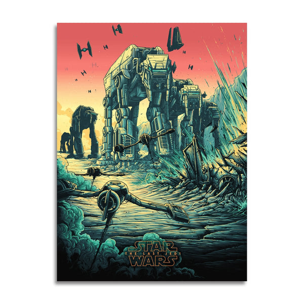 The Spark That Will Light the Fire (Variant) by Dan Mumford | Screenprint |  PopCultArt