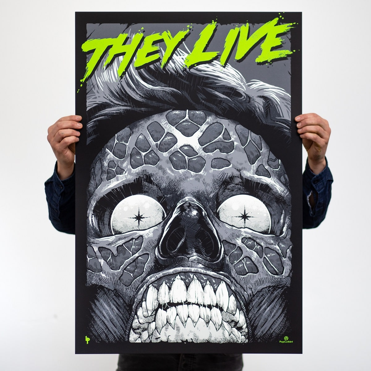 They Live (Glow-In-The-Dark Variant) - Luke Preece