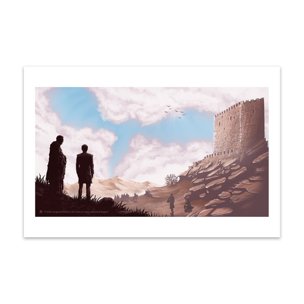 Tower of Joy (Original) | Conor Smyth | Giclee | 2018