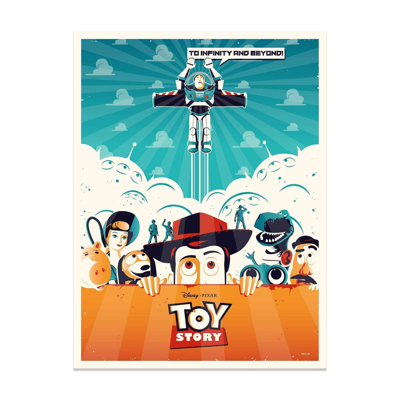 Toy Story Rico Jr. - Lithograph - PopCultArt