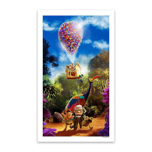 Thanks For The Adventure | Disney Pixar's Up | Mark Chilcott | Giclee | PopCultArt
