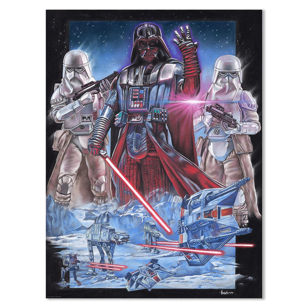 Vader at Hoth by Victor Garduno | Star Wars Poster | PopCultArt