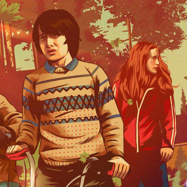 Stranger Things (Original) by Alexander Wells - Close up 1 | PopCultArt