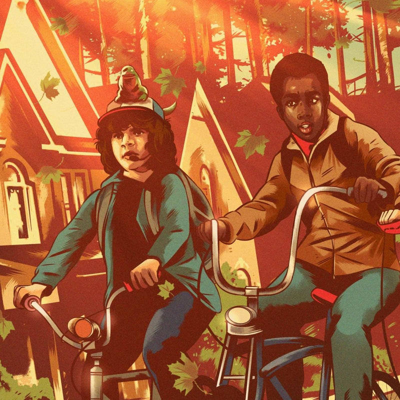 Stranger Things (Variant) by Alexander Wells - Close up 2 | PopCultArt
