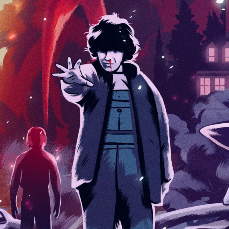 Stranger Things (Variant) by Alexander Wells - Close up 3 | PopCultArt