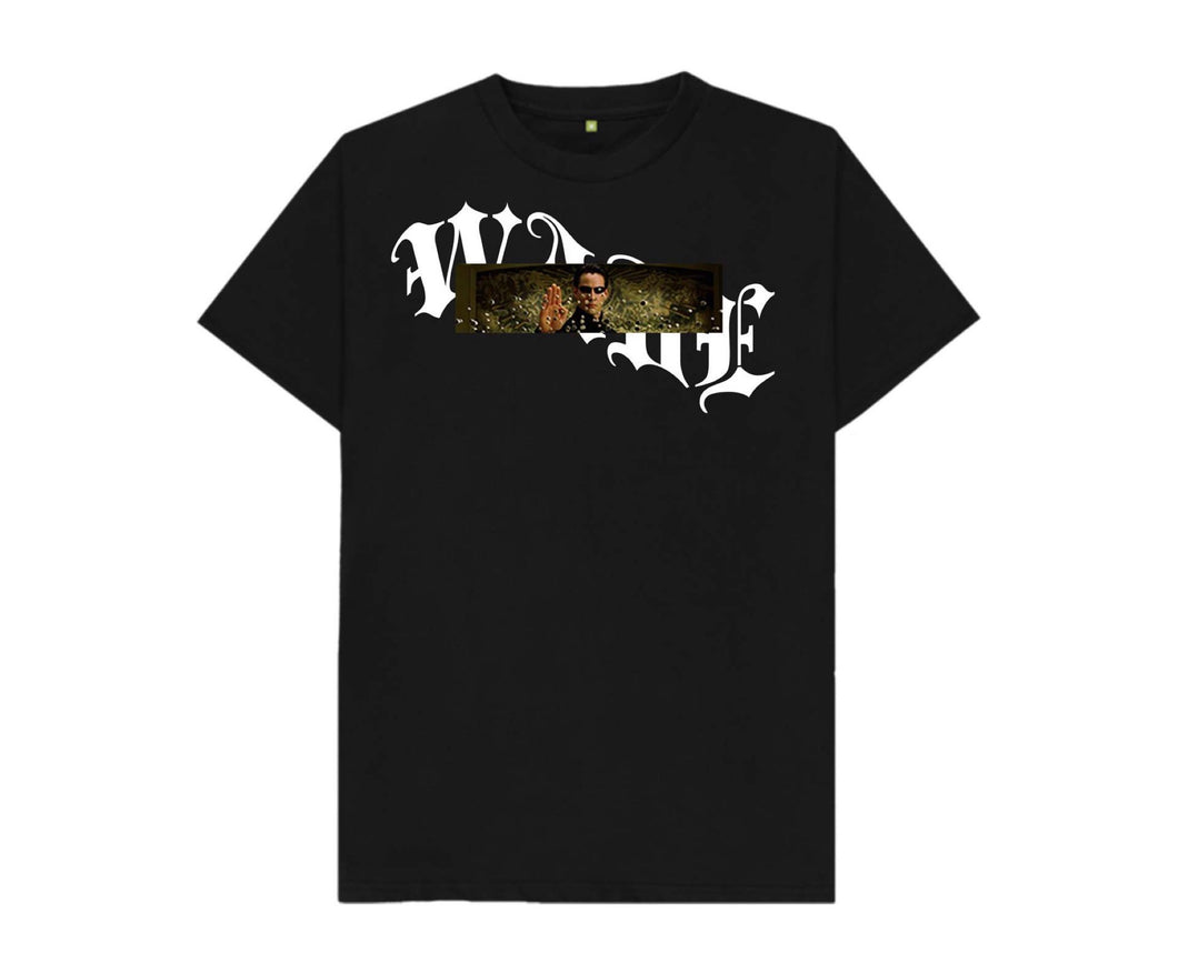 """What is time"" black t-shirt"